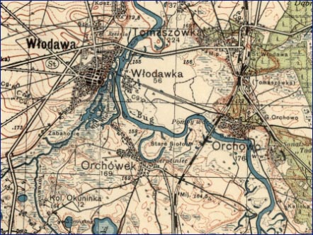 historia-Mapa-włodawa-kolej