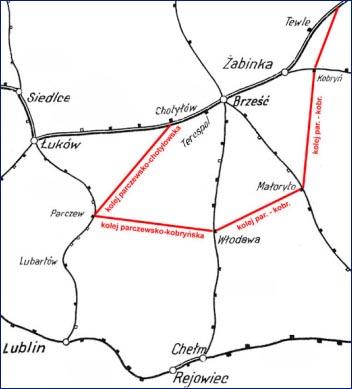 Planowane połączenie kolejowe miedzy Włodawąa Parczewem